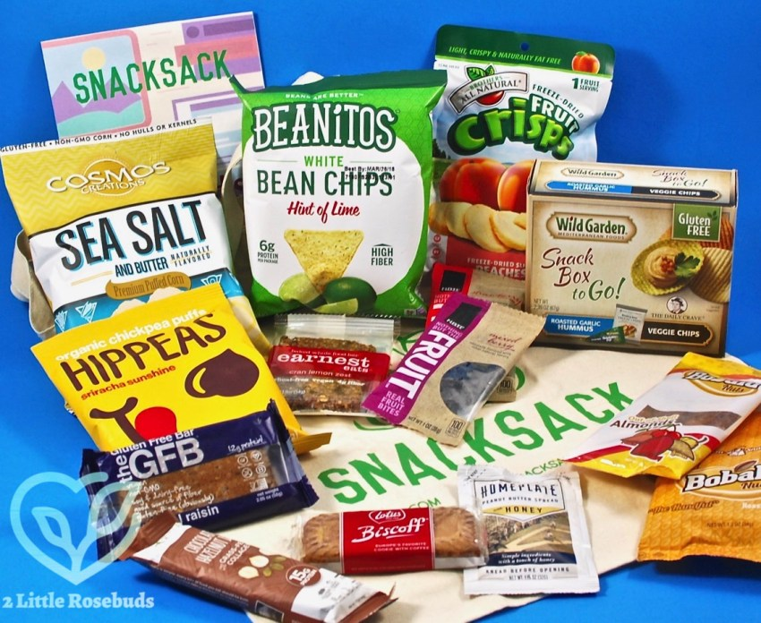 SnackSack August 2017 Subscription Box Review & Coupon Code