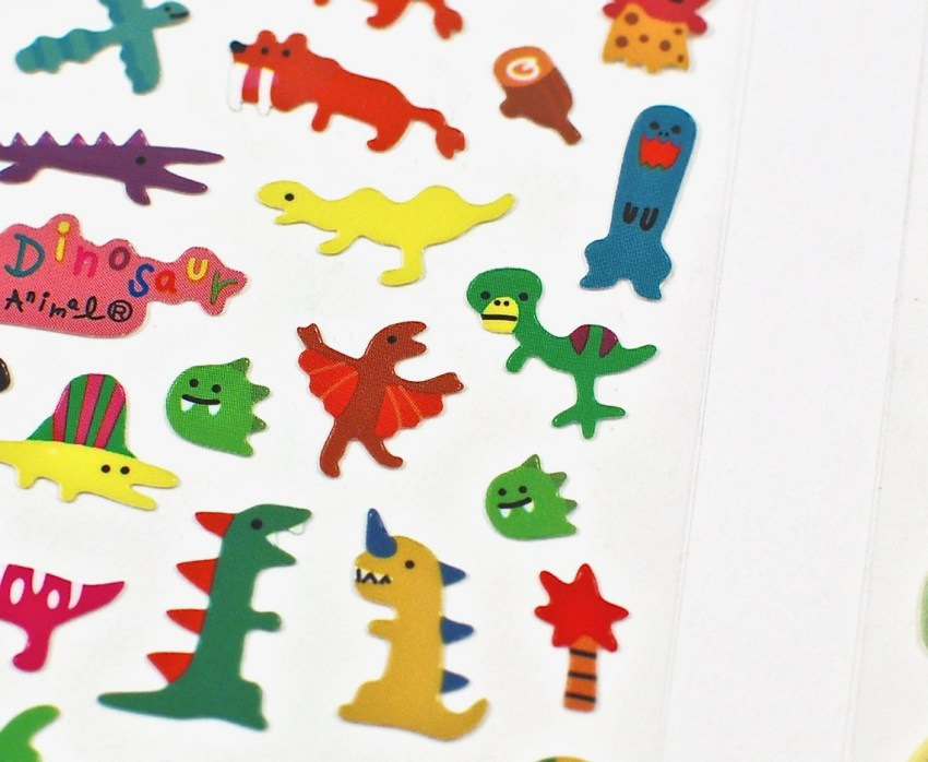 dinosaur stickers