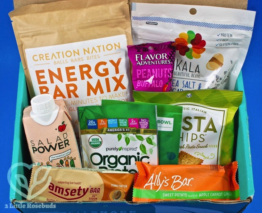 September 2017 Fit Snack review