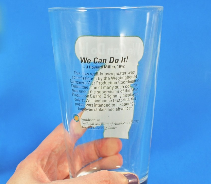 rosie the riveter glass