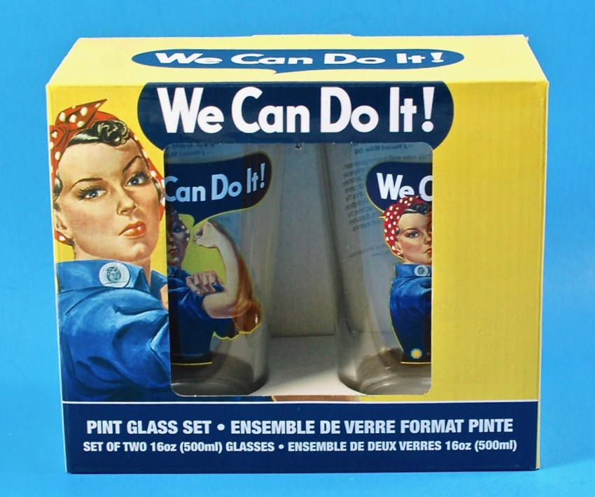 We Can do it glasses