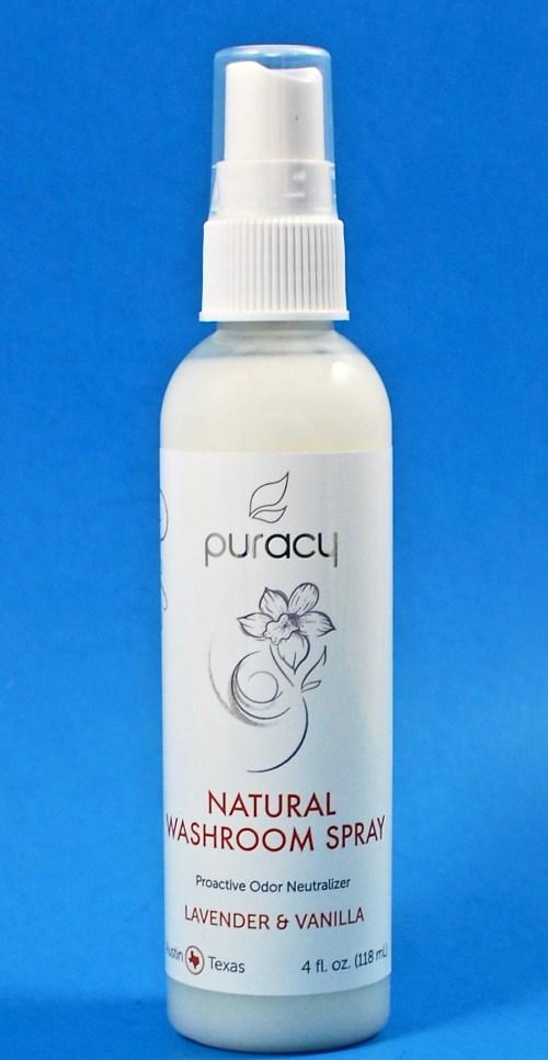 Natural Washroom Spray by Puracy