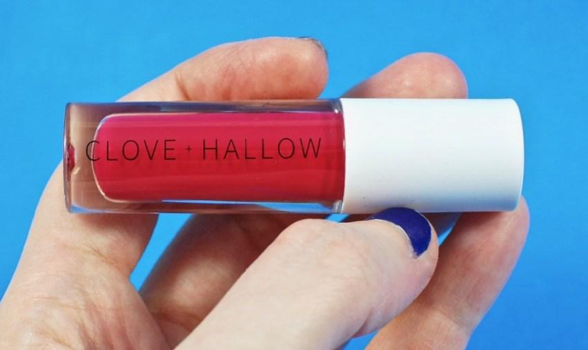Clove + Hallow lip glaze