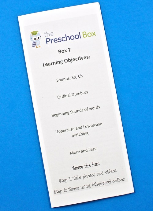 Preschool Box review 2017