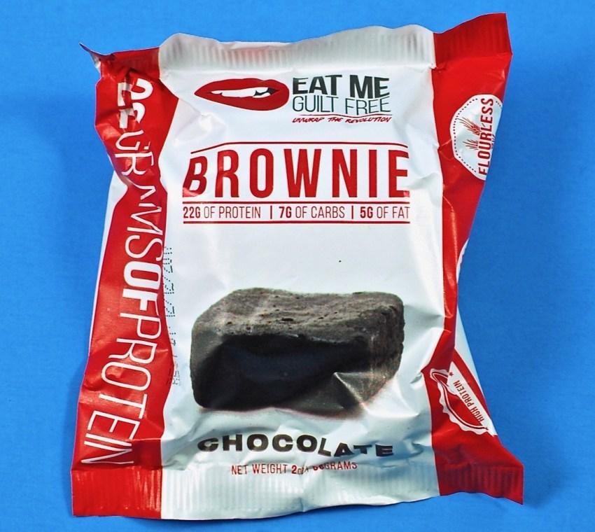 eat me guilt free brownie