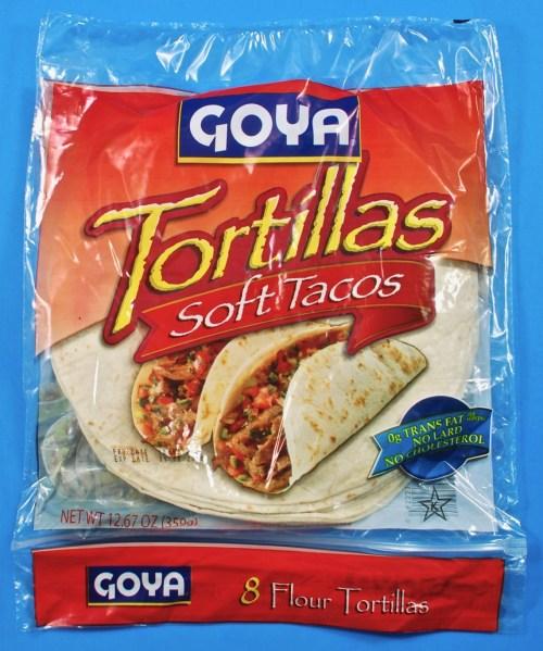 Goya tortillas