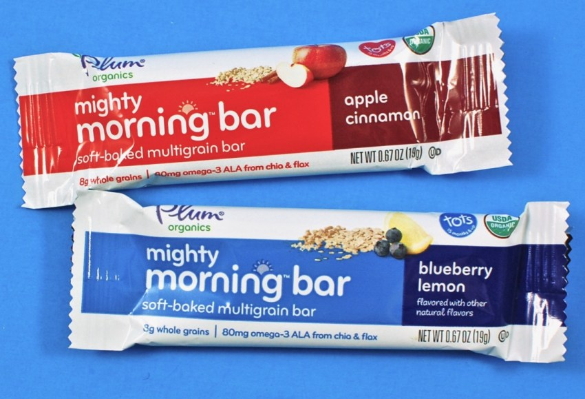 Plum Organics morning bar