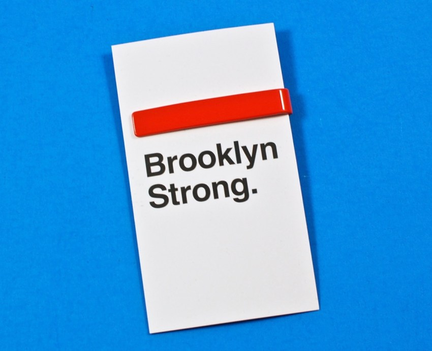 Brooklyn Strong tie bar