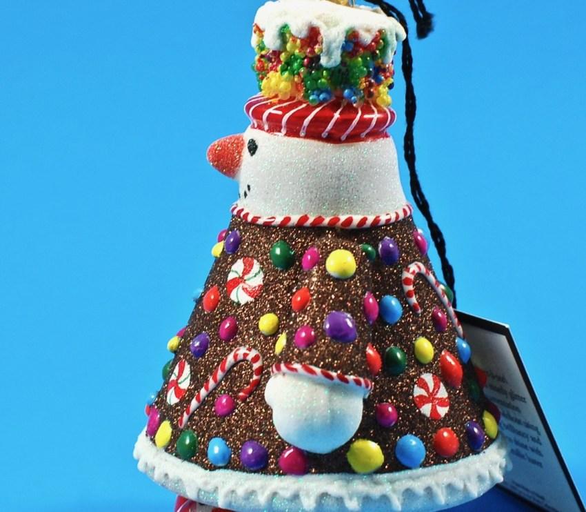 glitterazzi snowman ornament