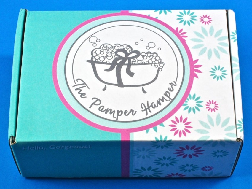The Pamper Hamper box