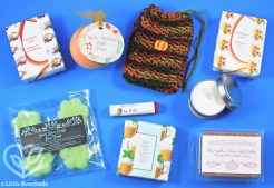 November 2017 The Pamper Hamper box review
