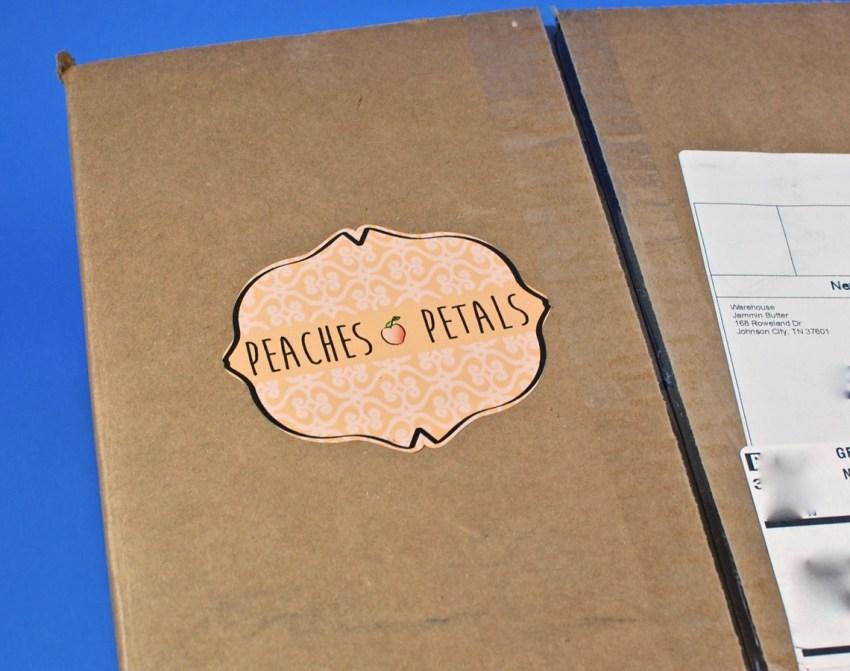 peaches and petals box