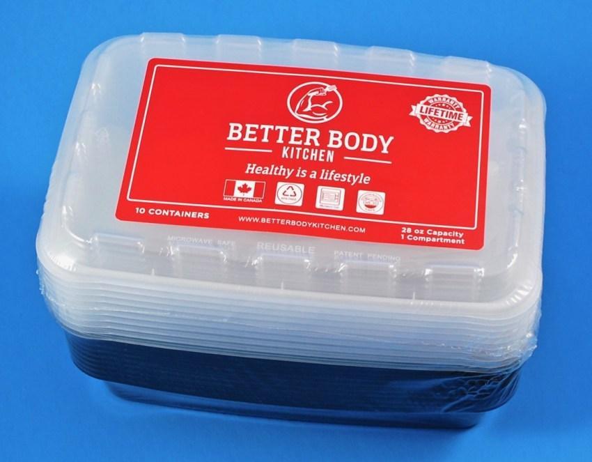 better body kitchen meal prep