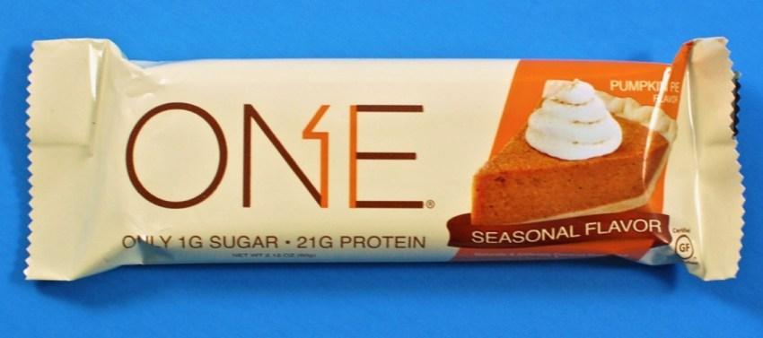 One nutrition bar