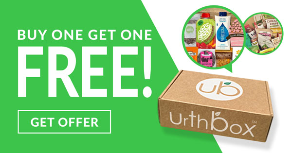 Urthbox June 2018 Coupon – $10 Off + Buy One Box Get One FREE!