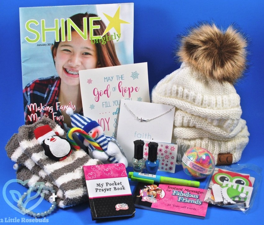 Godly Girlz Box Winter 2017 Subscription Box Review & Coupon Code