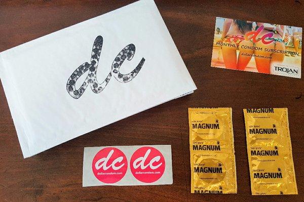 Dollar Condom subscription