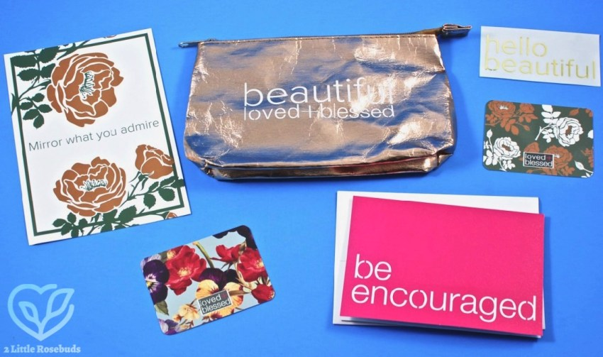 Loved + Blessed February 2018 Box of Encouragement Review