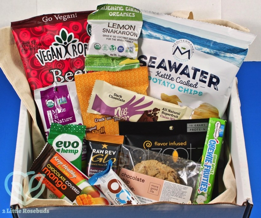 SnackSack February 2018 Vegan Subscription Box Review & Coupon Code