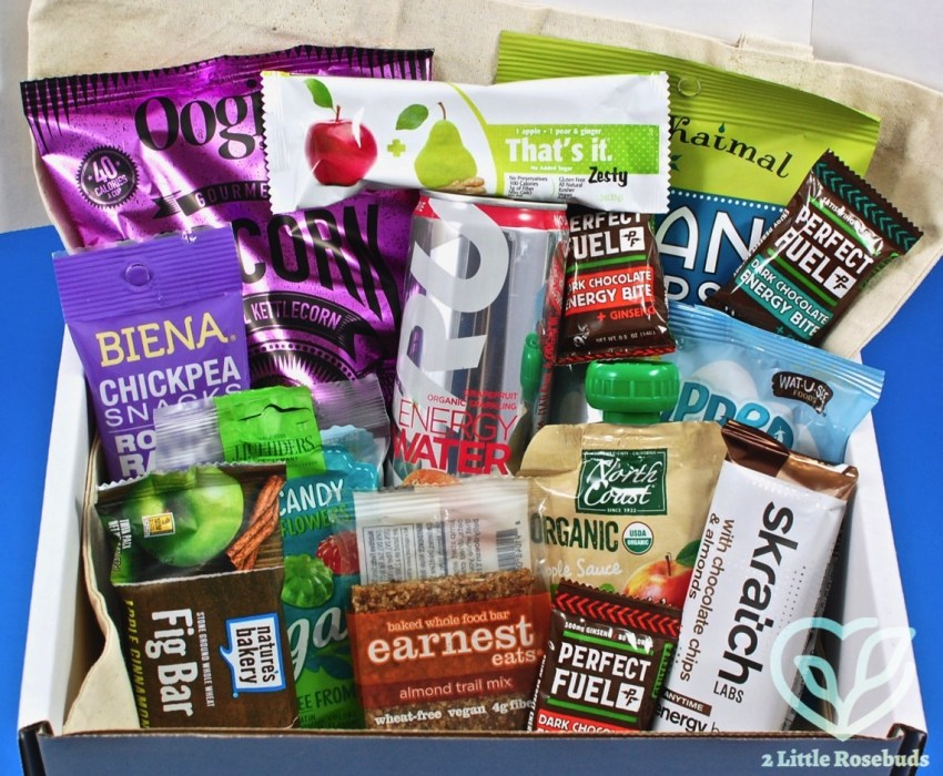 SnackSack January 2018 Vegan Subscription Box Review & Coupon Code