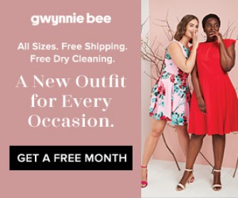 Gwynnie Bee free trial subscription