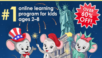 ABC Mouse Labor Day 2019 Coupon – One Year Subscription for