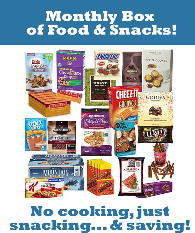 New Snack Subscription: Monthly Snack Box!