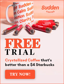Sudden Coffee free trial subscription box