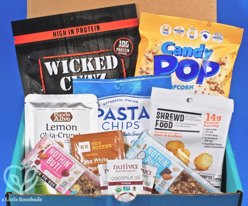 August 2018 Fit Snack review