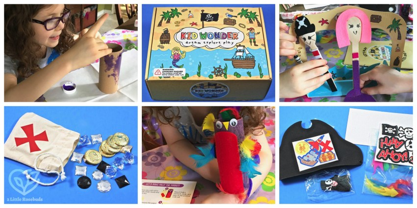 Kid Wonder August 2018 Children's Subscription Box Review & Coupon Code