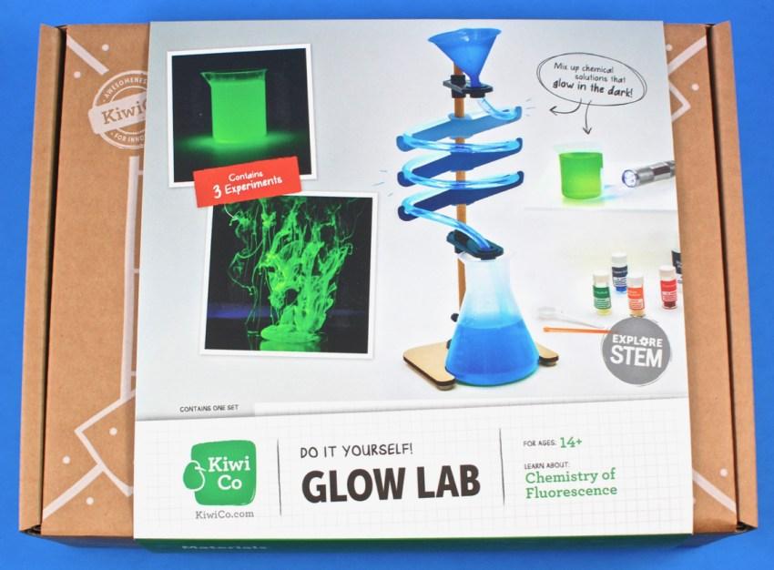 Kiwi Co glow lab review