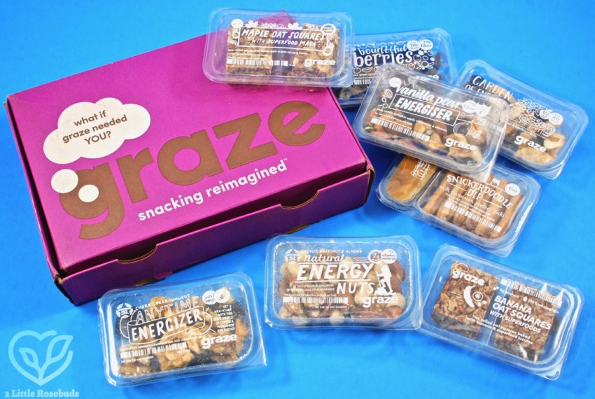 Graze September 2018 Snack Subscription Box Review & First Box FREE