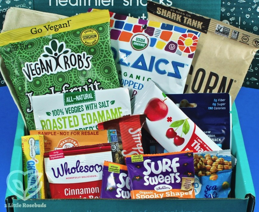 October 2018 Snacksack review