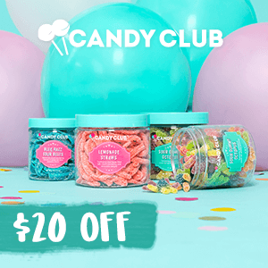 candy club coupon