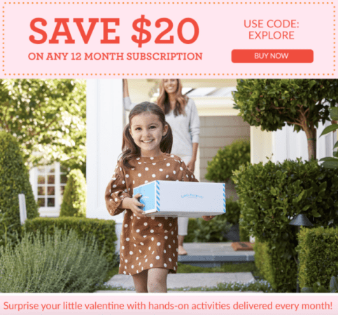 Little Passports - save $20 on any 12 month subscription