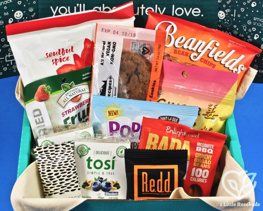 March 2019 SnackSack review