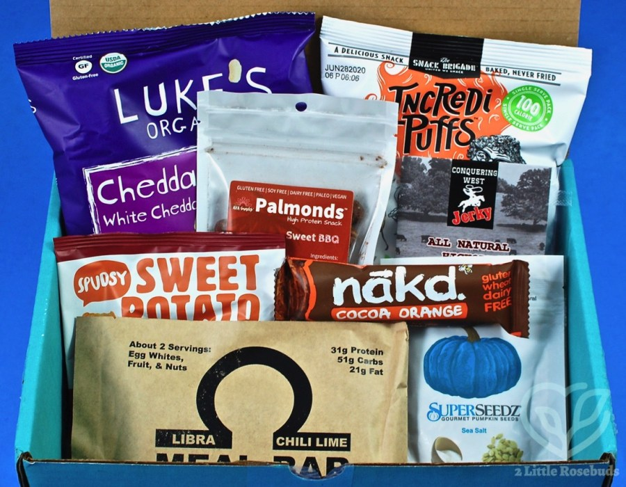 August 2019 Fit Snack review