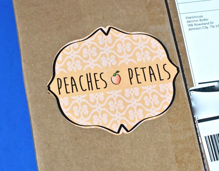 Peaches & Petals box
