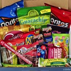 August 2019 Secret Snacks box review