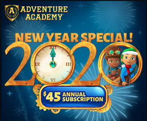 adventure academy coupon