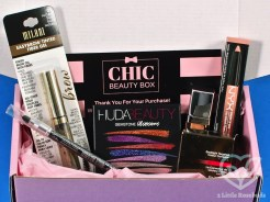 November/December Chic Beauty Box review