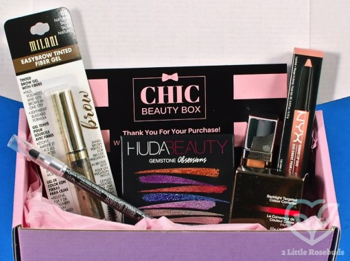November/December Chic Beauty Box review