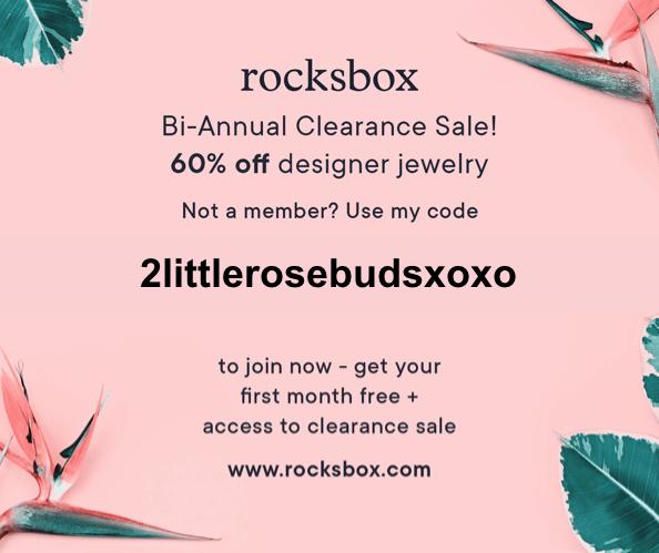 rocksbox free sale
