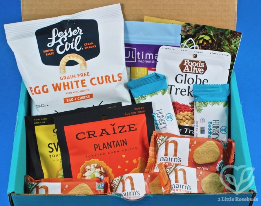 July 2020 Fit Snack review