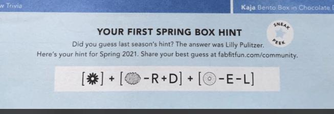 fabfitfun spring 2021 spoiler