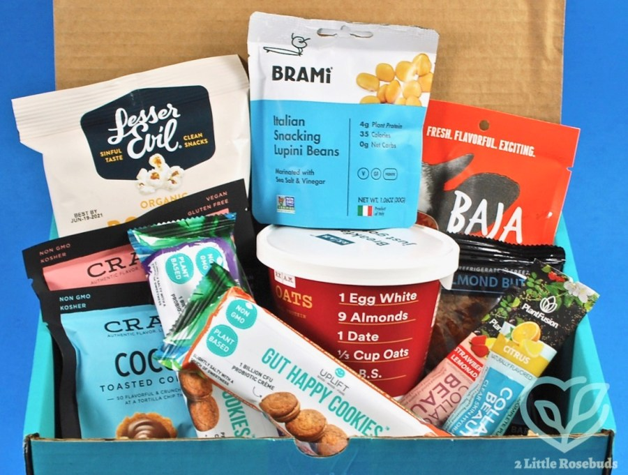 December 2020 Fit Snack box review