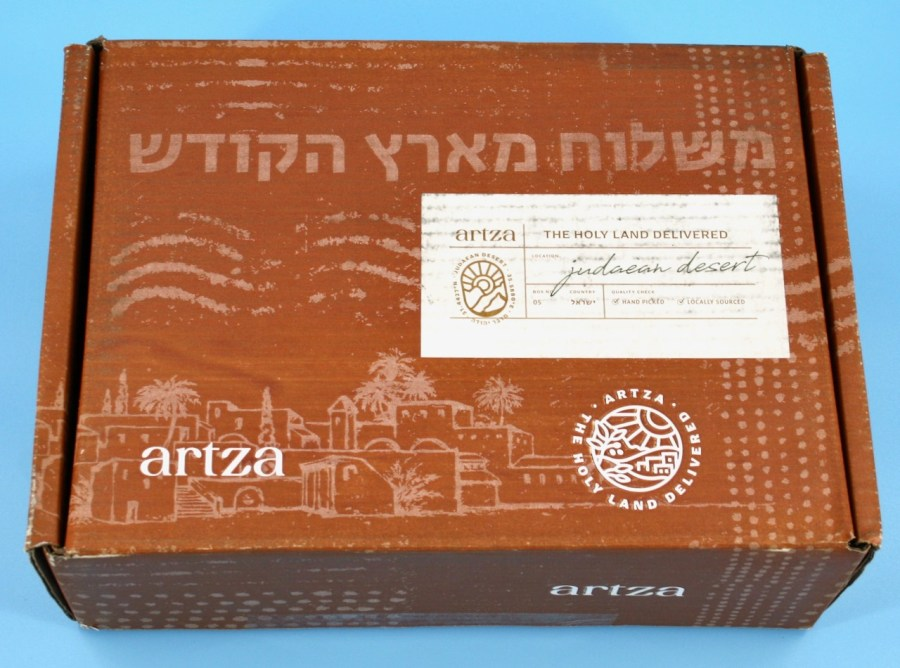 Artza Judaean Desert box review