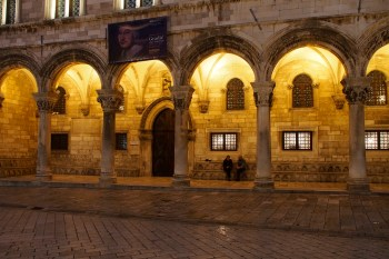 The Rector's Palace in Dubrovnik.