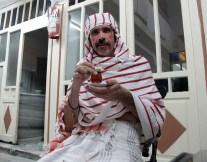 Channelling my inner Sheik Yerbouti in the Kadirga Hamam.