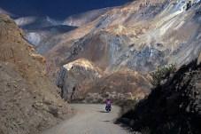 Descending into the Cordillera Negra.